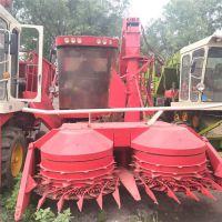 厂家直销高速转盘青储机 高喷旋转喷料口青贮机 大型玉米秸秆回收机