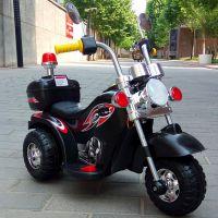 儿童电动车儿童摩托车哈雷摩托太子三轮车可坐人宝宝电动玩具童车
