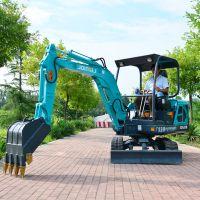 竖井施工微型挖土机电动小型挖掘机改装