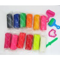 厂家直销OPP袋包装糖果色100克橡皮泥 彩泥 DIY手工益智玩具泥