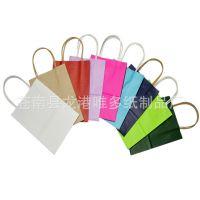 纸质手提袋  外卖纸袋 环保牛皮纸袋  彩色环保手提纸袋