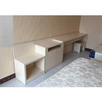厂家定制快捷酒店宾馆板式家具客房写字桌行李柜衣柜鞋柜一体桌全套