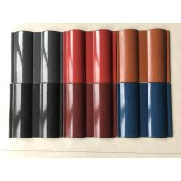 山东淄博20*20规格全瓷双筒瓦 西式瓦 各种颜色 大量现货