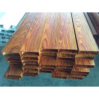 木纹铝方通 1.0铝方通木纹色 氟碳喷涂铝材 铝方管