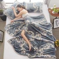 床上铺的毛毯加厚毛绒单人毯子珊瑚绒宿舍保暖被子学生冬季薄床单