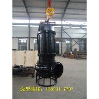 润泰CNQ型矿用潜水抽砂泵,沉淀池搅拌泥沙泵