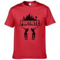 堡垒之夜 游戏Fortnite速卖通外贸热卖新款夏季纯棉短袖印花T恤