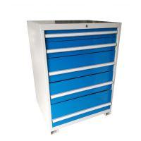 湖南层板抽屉式工具柜,玻璃门加厚铁皮柜,活动层板储物铁柜定制厂