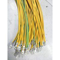 深圳线材加工厂环形端子端压2.5方黄绿线束加工定制生产厂家