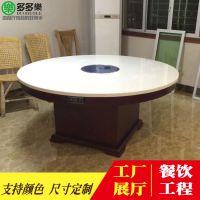 中式火锅店家具批发 电磁炉火锅桌 四人/六人/八人桌子