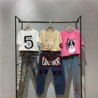 维斯艾斯诺品牌宽松牛仔裤一手货源批发