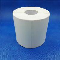 90*60卷筒印刷不干胶 标签纸定 制可做 条码纸 秤纸