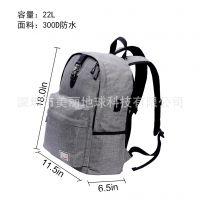 旅行背包男女大容量防牛津龙电脑包 USB充电双肩包大学生书包