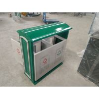 供应垃圾桶(户外)镀锌板 绵阳垃圾桶批发 户外铁垃圾桶 分类桶