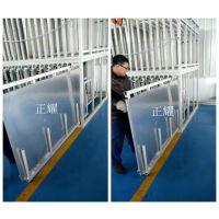 用什么方式存放板材可以节省占地空间 立式板材存放货架