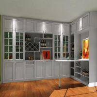 厂家定做实木酒柜 现代中式餐边柜间厅柜门厅柜 客厅住宅家具定做