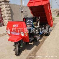 工地拉料专用的运输车 园林专用小型工程三轮车 乌兰巴托能走草地的三马子