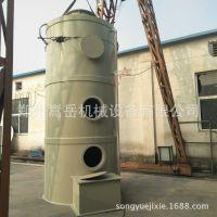 工业喷漆房空气净化器  酸雾废气净化塔 大型PP脱硫塔现场制作