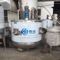 胜达sd-ytjbg电动1吨洗衣液加热搅拌桶立式多功能液体反应釜化工调配配液罐