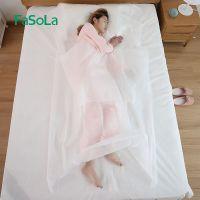 FaSoLa旅行酒店隔脏睡袋成人室内宾馆单人被套便携式旅游防脏床单
