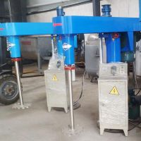 泽诺生产机械升降分散机 高速搅拌机 乳化分散机