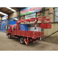 济宁厂家推荐高空作业随车吊加装吊篮上蓝牌 高低速配置 3.2吨随车吊