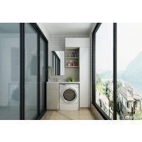 武汉阳台柜定制、定做阳台柜、洗衣机柜找怡萧行、免费测量设计