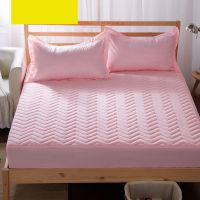 床套夹棉床笠单件加厚1.5m床罩薄垫1.8保护套1米2儿童0.9防滑1.2