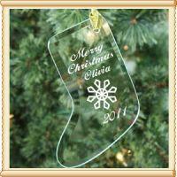 生产水晶圣诞挂件圣诞袜子挂件圣诞节用品圣诞礼品水晶工艺品礼品