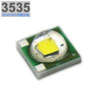 陶瓷3535灯珠3W 可替代CREE XPE系列白光LED贴片光源