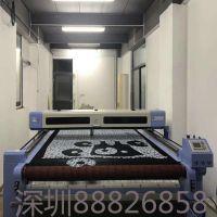 激光自动裁床西服高级定制可对合裁专用设备SJF9045