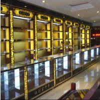 泉州燕窝展示柜定做保健品展示架,高柜,矮柜,中导,玻璃柜。