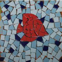 安徽碎瓷砖拼花陶瓷马赛克防滑地砖景观园林工程施工