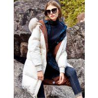 羽纱国际品牌服装折扣加盟店折扣女装 北京品牌尾货批发多种风格红色毛衣新款组货包