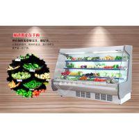 东莞水果风幕柜保鲜柜多少钱一米