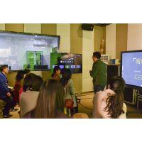 虚拟演播室,高清4K校园演播室的抠像录像直播效果