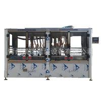 8头直线灌装机 液体自流式定量灌装机 车用尿素液自动灌装机 定做