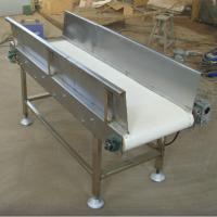 砂石专用挡边皮带输送机不锈钢防腐 液压升降式输送机