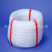 直销非标ptfe管  耐腐蚀白色ptfe管 钢丝编织四氟管 规格齐全