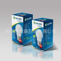 定制灯泡节能灯LED灯彩盒 包装盒设计印刷 纸盒 瓦楞纸彩印