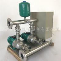德国WILO威乐水泵MHI1604一用一备恒压变频供水设备电气原理