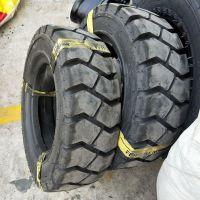 山东工业叉车轮胎2.50-15龙工叉车轮胎250-15 带内胎垫带