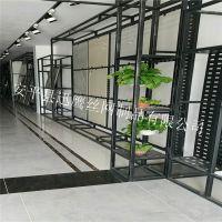 加工800瓷砖展示架 悬挂式方孔展板展示柜  陶瓷挂件挂钩
