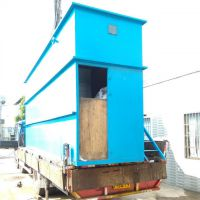 华兰达MBR一体化污水处理设备支持定制 崇左扶绥新农村生活污水处理成套设备