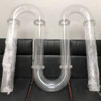 定制加工亚克力造型定做亚克力弯头工装件透明亚克力异型管道制作