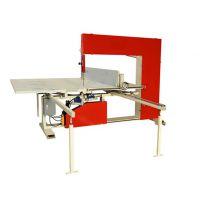 全自动珍珠棉立切机厂家供应 鸿羽海绵直切机 分切机珍珠棉机械设备