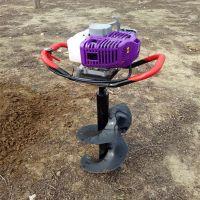 农用冻土打眼机 汽油电线杆挖坑机 圣鲁牌