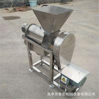 厂家直销大型水果蔬菜榨汁机 商用螺旋榨汁机 不锈钢果汁分离机