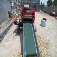 牧草机械批发 牧草打捆包膜机 草料批发打捆机