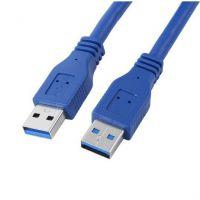 USB3.0数据线公对公 高速扁平移动硬盘数据连接线1米1.5米